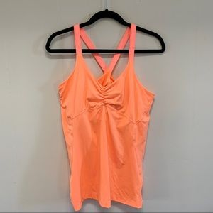 Adidas Climate coral tank size large